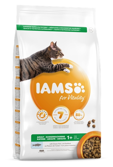 IAMS for Vitality met zeevis adult