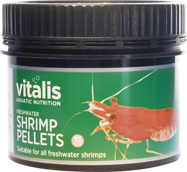 Vitalis freshwater shrimp pellets 1mm