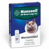 Bayer Mansonil All worm large cat