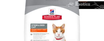 Science Plan™ Sterilised Cat Young Adult (Kip)